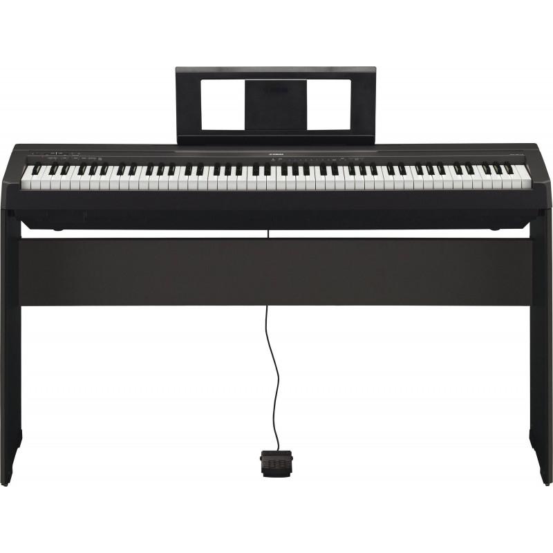 Цифровое пианино                                     Yamaha P-45 B - чёрный