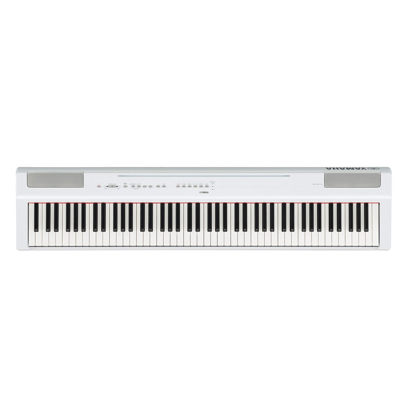 Цифровое пианино Yamaha P-125 WH - белый