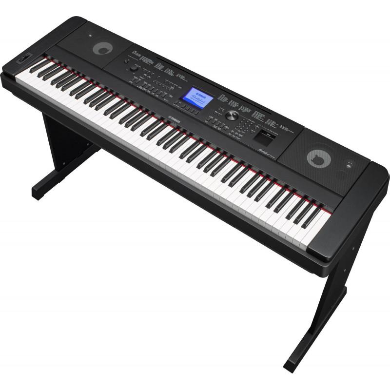 Цифровое пианино Yamaha DGX-660 B - чёрный