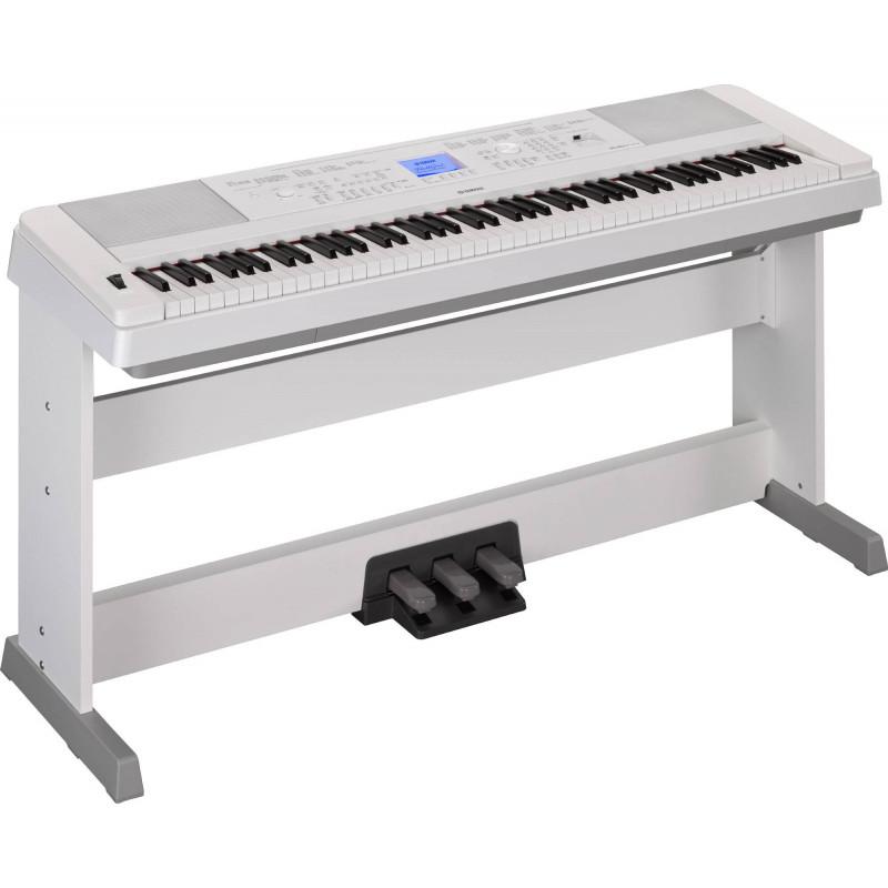 Цифровое пианино Yamaha DGX-660 WH - белый